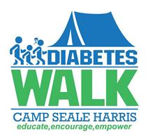 Diabetes Walk for Camp Seale Harris Logo